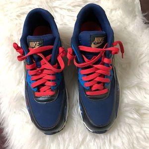 reputable site 3ffa7 ecf63 Nike Shoes - Nike Air Max 90 PREM LTR Galaxy Metallic Hematite